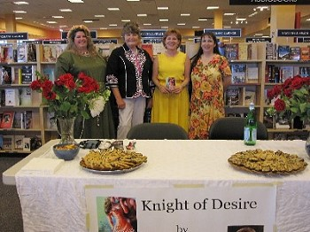 Margaret Mallory book signing