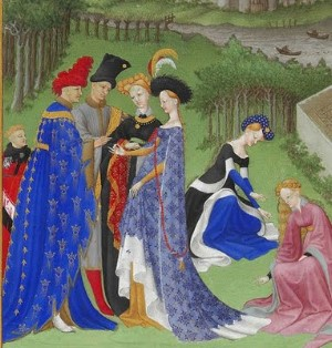 Margaret Mallory : Medieval Christmas Court